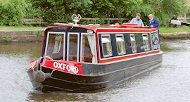 Oxford narrow boat