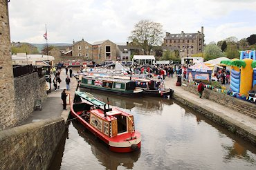 Skipton Canal Festival, Leeds & Liverpool Canal