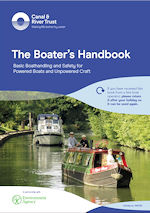 The safety handbook on your hire boat holiday with Shire Cruisers