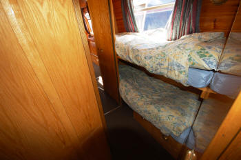 Gloucester with top bunk in