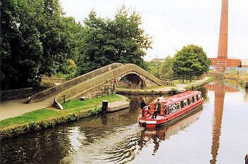 Junction of the Ashton Canal and Peak Forest Canal, South Pennine Ring