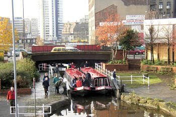 Manchester on the Rochdale Canal, South Pennine Ring