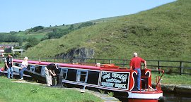 Walsden near Todmorden on the Rochdale Canal